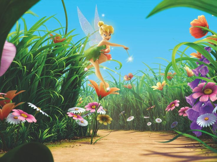 tinker bell | ... wallpapers tinkerbell tinker bell hadas al rescate movie finchito