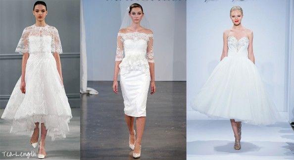 tea length wedding dresses : Tea Length Wedding Dresses