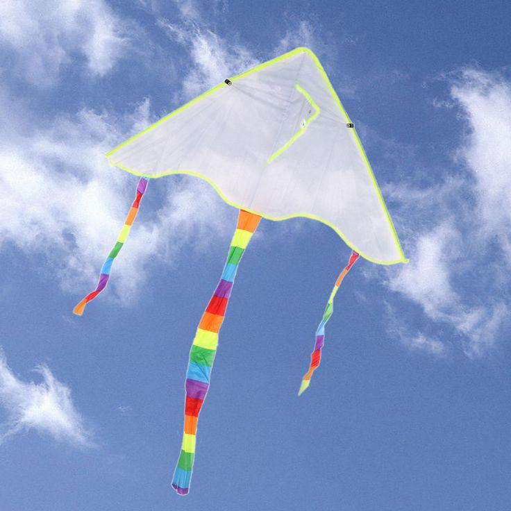 Diy凧絵画凧なしでハンドルライン屋外おもちゃフライングpapaloteおもちゃ凧を飛ばす凧ナイロンリップストップ生地スポーツパラシュート