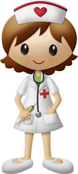 nurse illustration/clipart:
