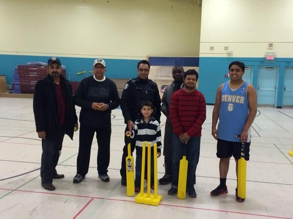 Our Cricket Program continues on Sundays. Athletes are encouraged to come out!