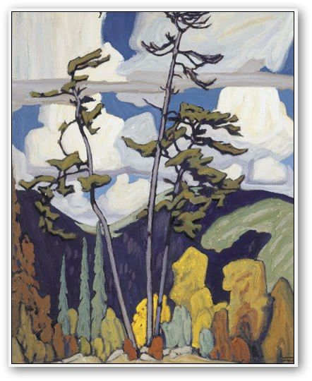 Lawren Harris The Pines pining