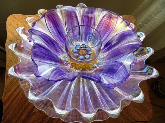 Pin By Handmade On Upcycled Repurposed Glass Glass Garden