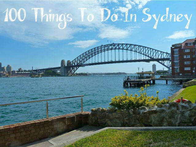 My List of 100 Things To Do In Sydney - Through My Looking Glass #Sydney #Australia #travel #lists