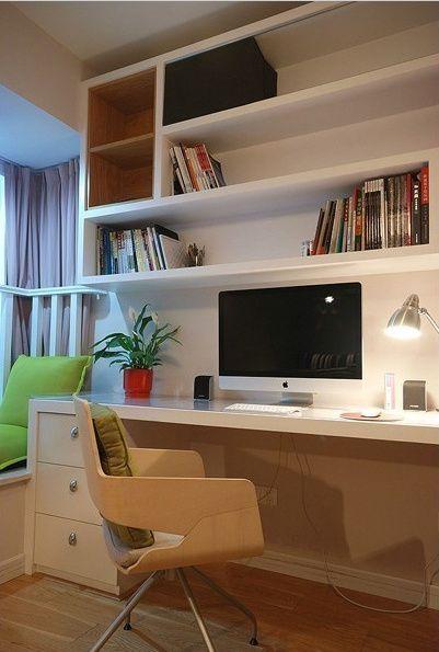 优先 - 办公桌这样可以有。偏现代简约。