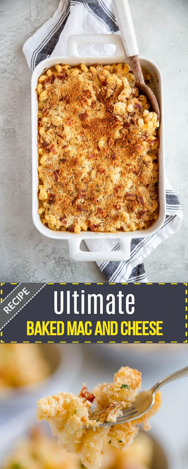 Ultimate Baked Mac and Cheese Recipe