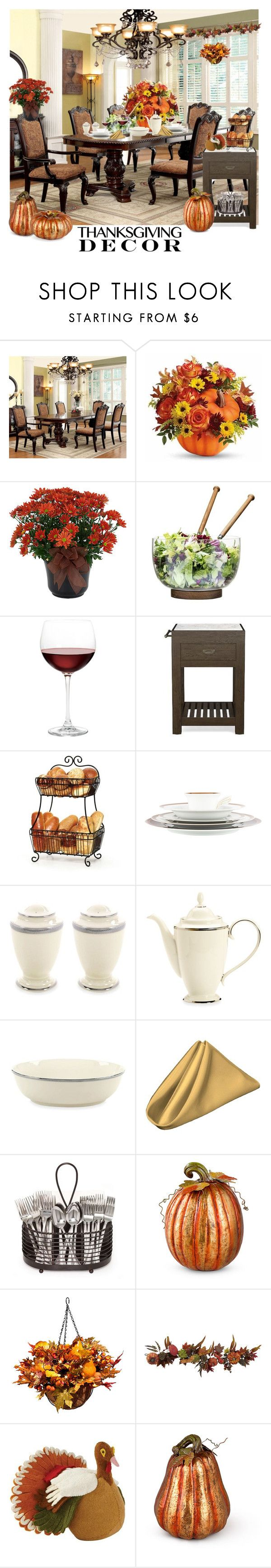 """""""Ready For Thanksgiving!"""" by bevmardesigns ❤ liked on Polyvore featuring interior, interiors, interior design, home, home decor, interior decorating, Furniture of America, Sagaform, Nordstrom and Williams-Sonoma"""