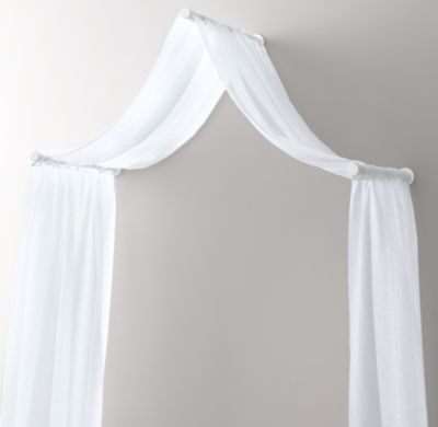 25 best ideas about curtain over bed on pinterest for Drapes over crib