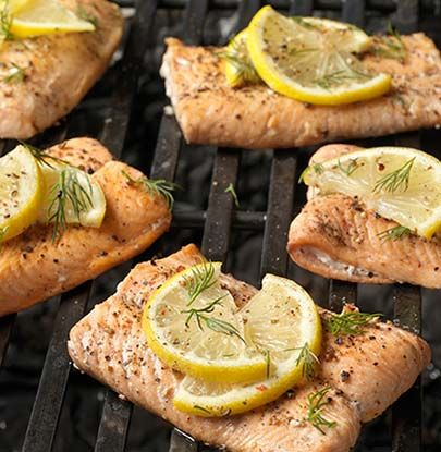 Marinated Grilled Salmon Steaks | Simple Dish | Quick, Easy, Healthy Recipes for Dinner