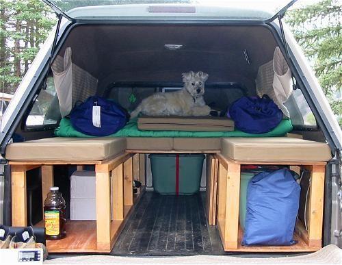 Truck Platform 1 Cool Camping Pinterest Creative