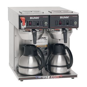 Bunn CWTF Twin-TC Automatic Thermal Coffee Brewer Review Buy Now wpsuperimp Pinterest D ...