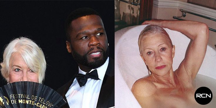 "Age Ain't Nothing But A Number: 50 Cent, 41, Wants To Get Up In Helen Mirren, 71 — ""She Turns Me On"""
