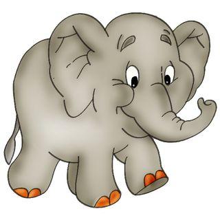 Cartoon Elephants   Baby Elephant Page 2 - Cute Cartoon Elephant Clip Art