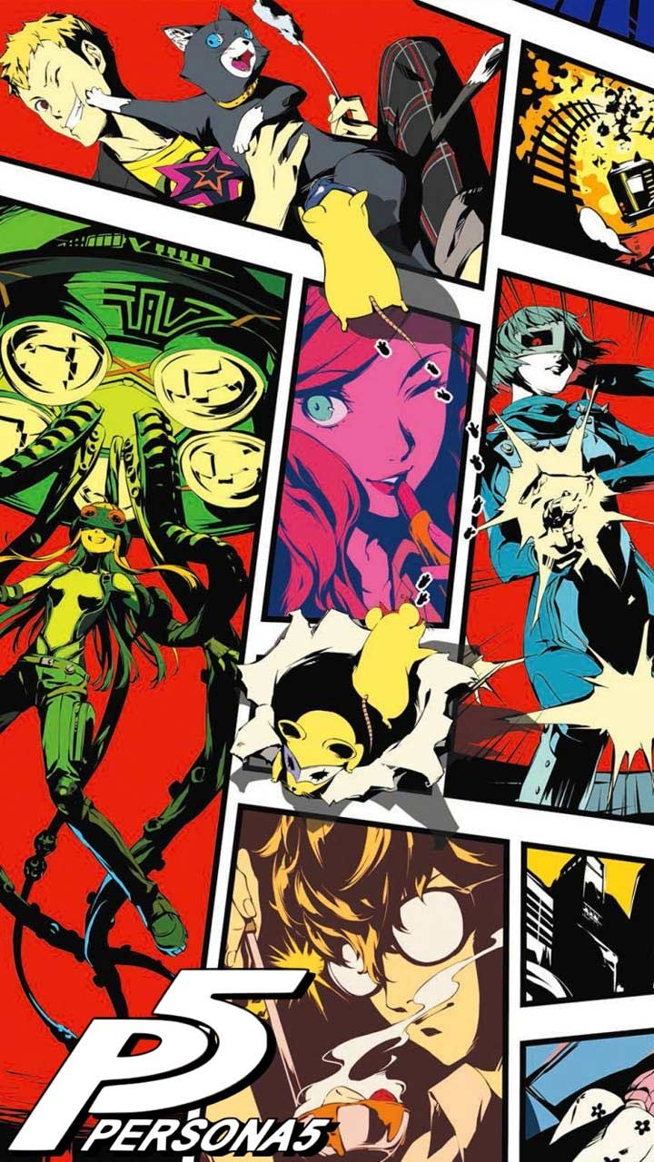 Persona 5 Wallpaper Hd Phone Backgrounds Characters Art Ideas For Iphone Android Lock Screen In 2020 Persona 5 Book Art Persona