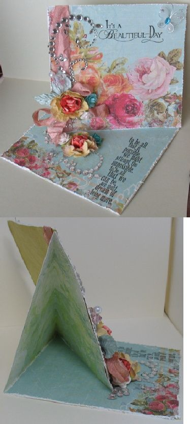 Twisted Easel Card Tutorial