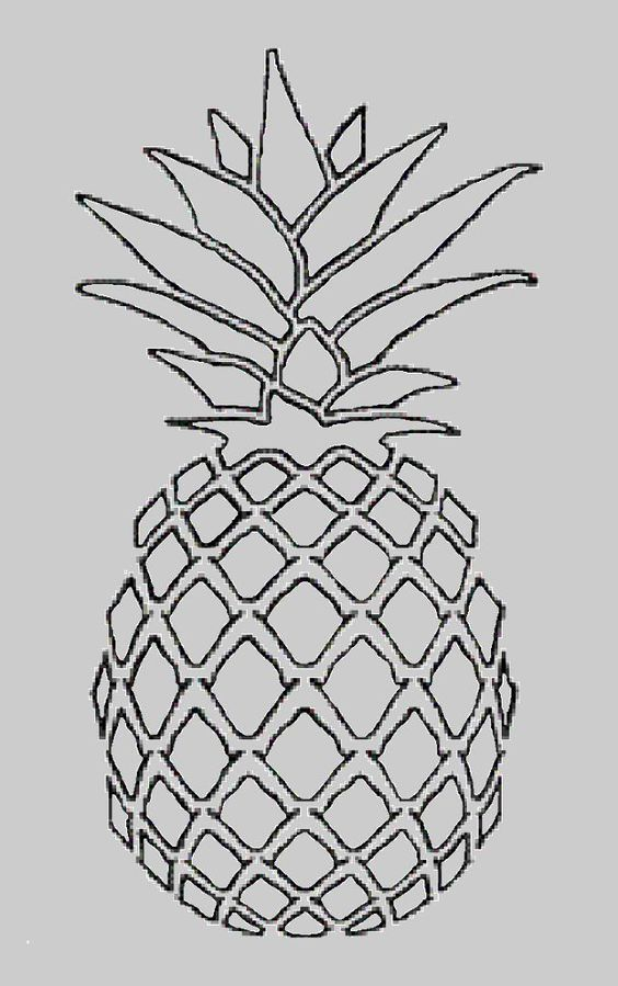 1000 Ideas About Pineapple Drawing On Pinterest Pattern Background