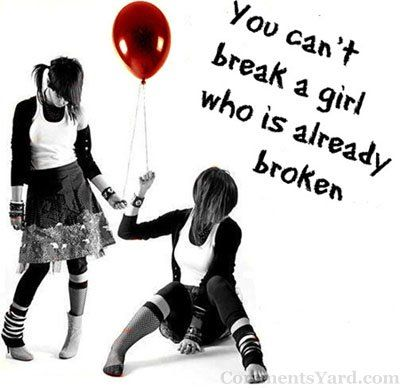 9 best emo images on pinterest emo bands emo girls and google emo quotes about broken hearts hd quotes vs memes malvernweather Choice Image