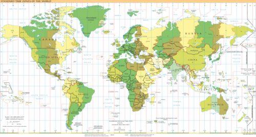 España y su huso horario