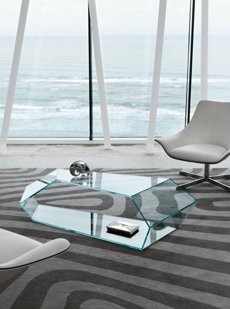 'tekon' table by karim rashid for tonelli design