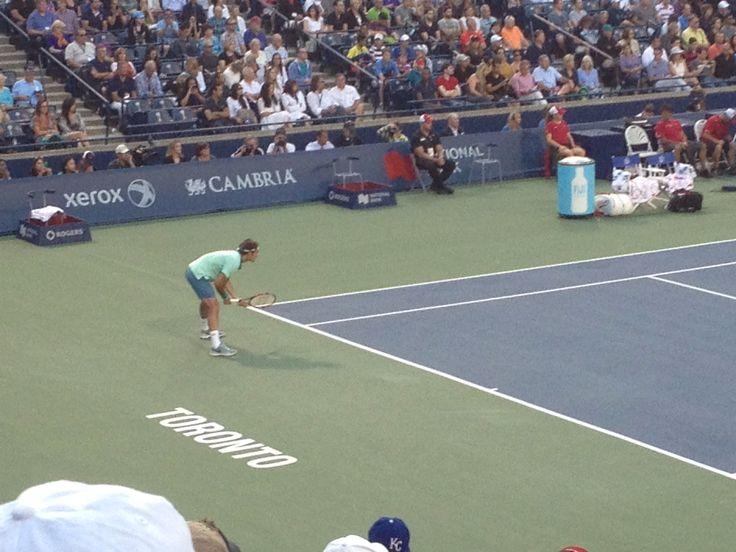 Rogers Cup- Roger Federer