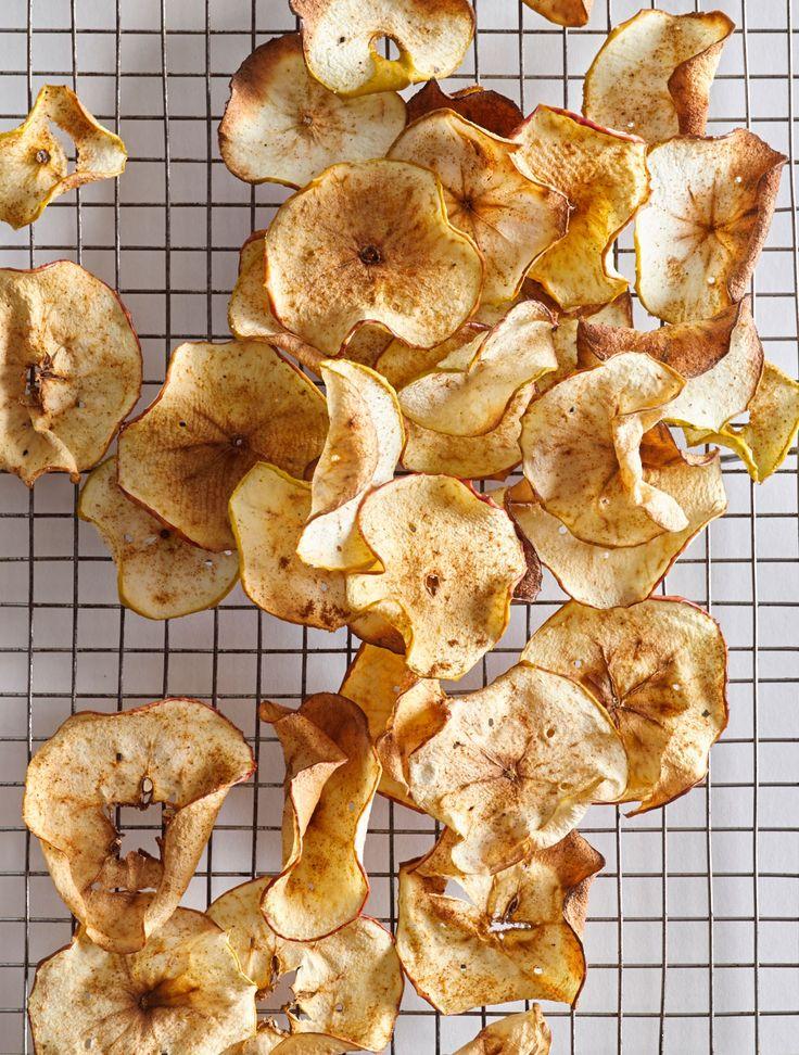 AirFried Apple Chips Recipe Air Fryer Pinterest