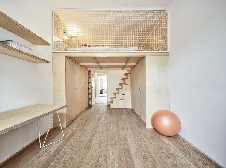 Rekonštrukcia bytu na Letnej, Praha   Archinfo.sk