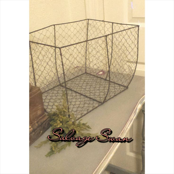Farmhouse Wire Basket, Large Rustic Wire Basket, French Country Basket Decor, Basket Prop, Farmhouse Decor by SalvageSwan on Etsy https://www.etsy.com/listing/266081828/farmhouse-wire-basket-large-rustic-wire