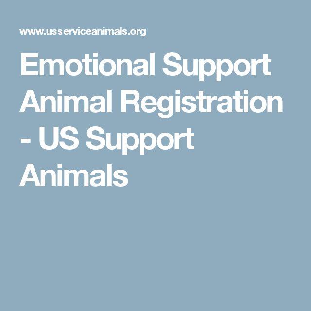 Emotional Support Animal Registration - US Support Animals