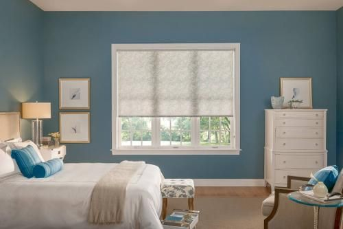 Just found the perfect window treatments!! - Blinds.com. – Bali Light Filtering Roller Shades #homedecor #blinds #roller--solar-shades
