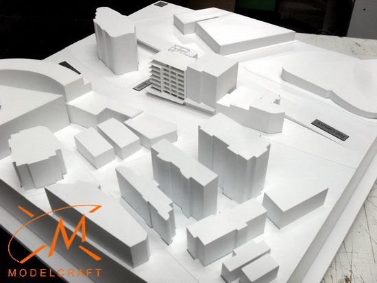 1:500 White Architectural Model by Modelcraft (NSW) Pty Ltd - 13014