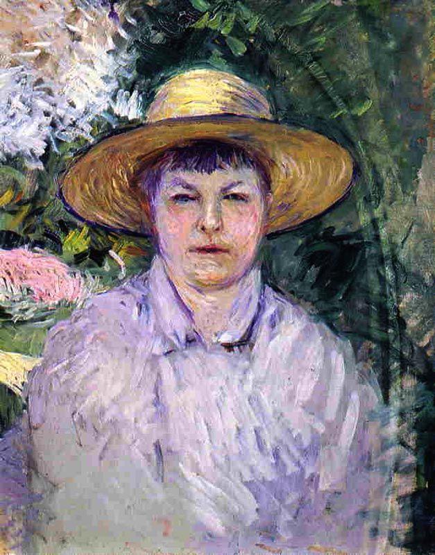 Gustave Caillebotte - Portrait de Madame Renoir