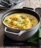 Květáková kari polévka