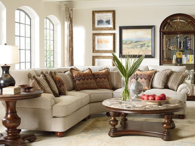 Lovely Portofino Wedge Sofa By Thomasville Http://www.thomasville.com/Furniture/ Living Room Furniture/Upholstery Leather/i327602 Portofino Wedge Sofa.aspx  ...