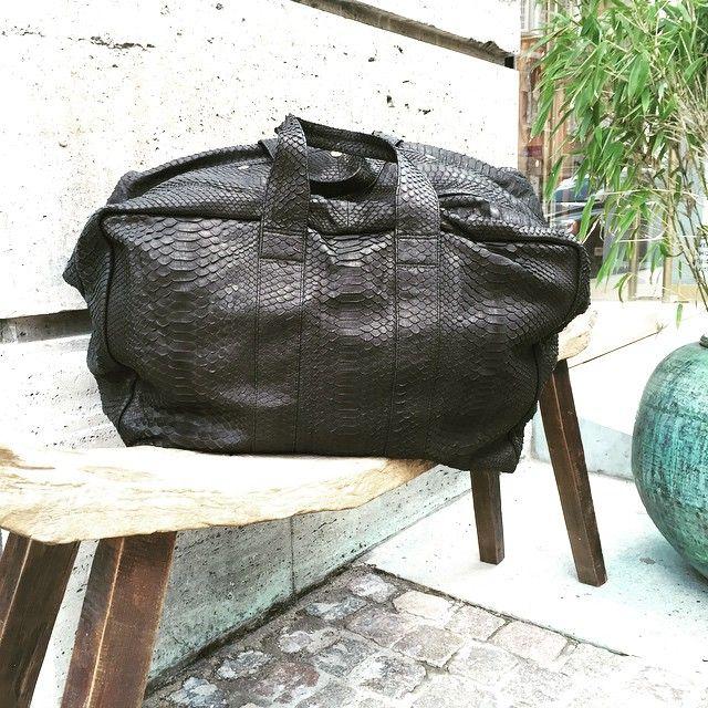 #travel #bag #holiday #snake #rabenssaloner #seeyouinthestore