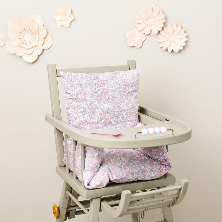Pink High Chair Cushion