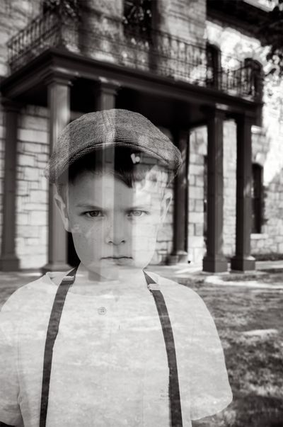How to make Family Ghost Photos for Halloween