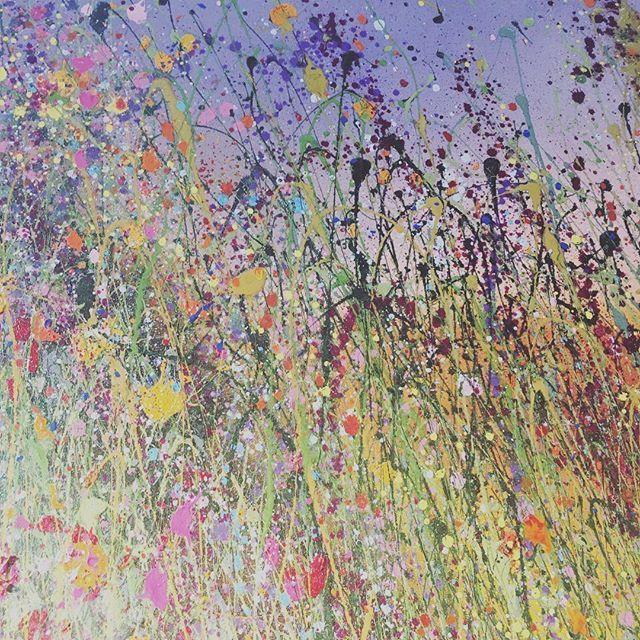 Oil Painting Detail #fineart #flowerart    #Regram via @yvonnecoomber