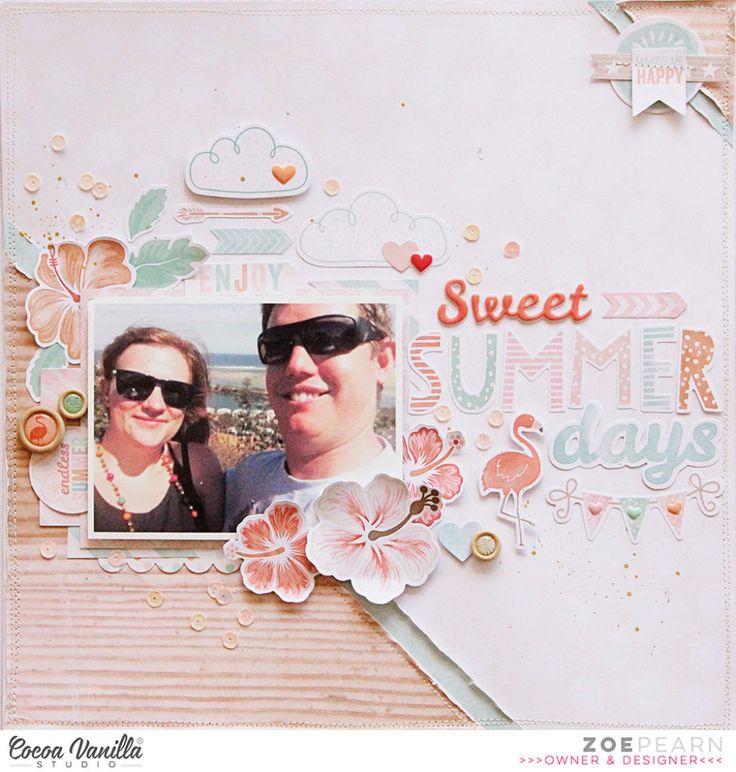 Sweet Summer Days | Endless Summer | Zoe Pearn – Cocoa Vanilla Studio