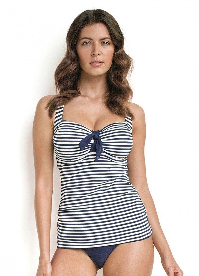 Spinnaker Stripe D/DD Singlet - New Arrivals - All Swimwear - Swimwear - Womens