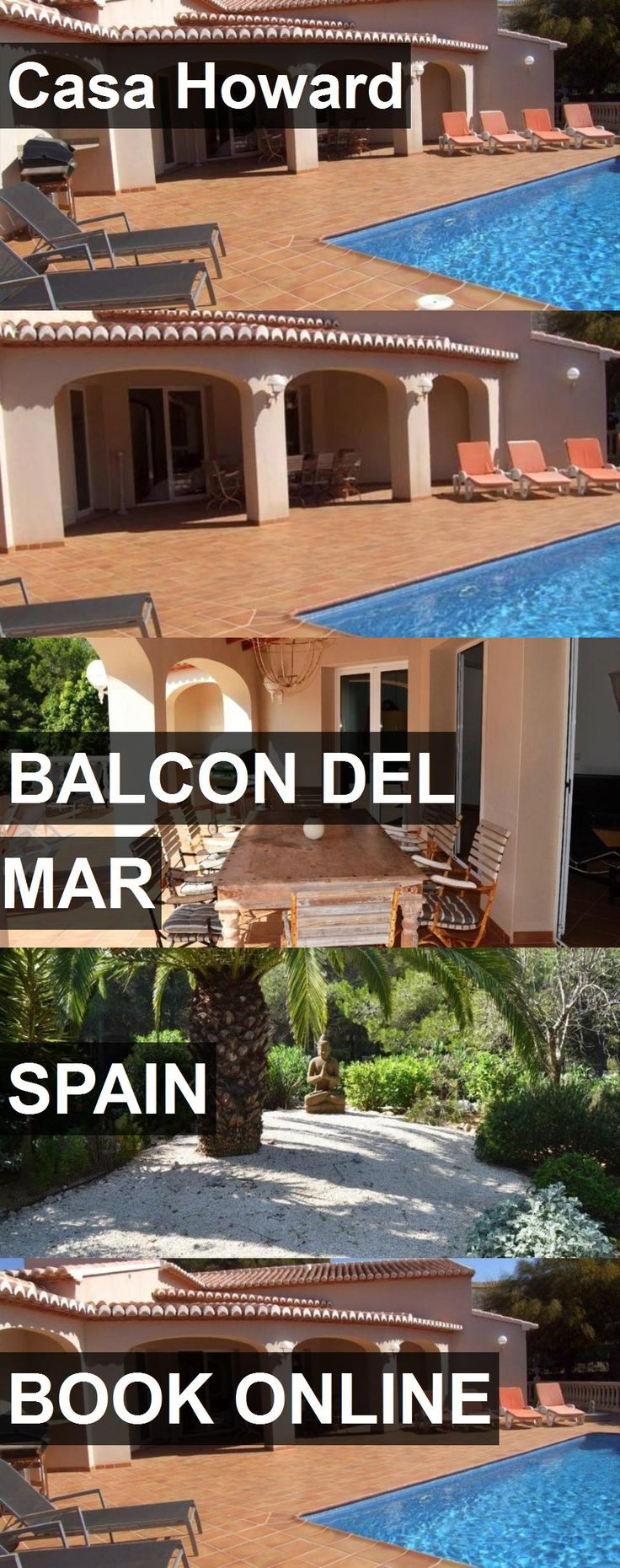 Hotel Casa Howard in Balcon del Mar, Spain. For more information, photos, reviews and best prices please follow the link. #Spain #BalcondelMar #travel #vacation #hotel