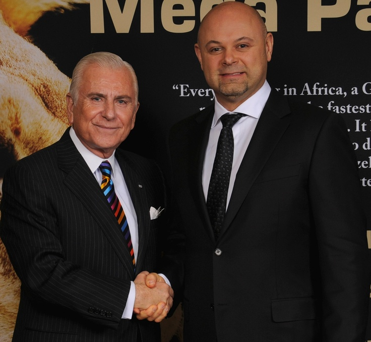 Shawn Shewchuk with Dr. Nido Qubein