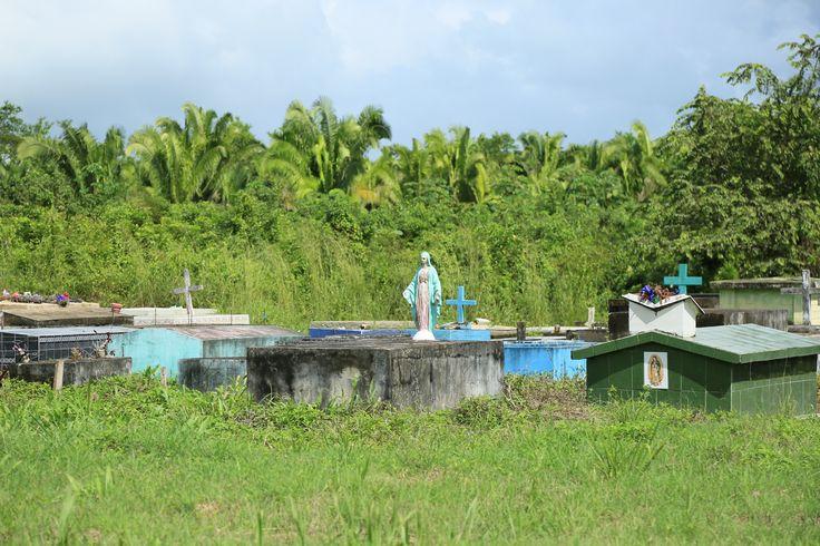 Small cemetery near property.