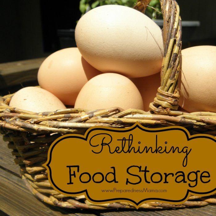Rethinking food storage - The Law of 3's   PreparednessMama