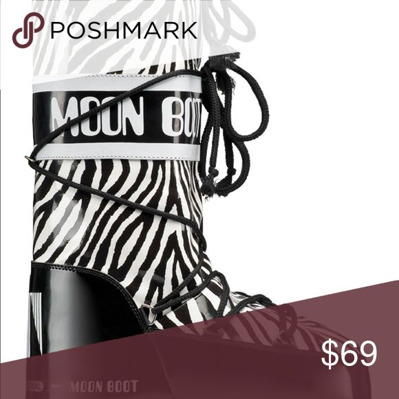 Tecnica Savana Moon Boot Zebra Print The Tecnica Moon Boot Savana for women is the ultimate in cool, retro style. This boot gives a shout out to the original Moon Boots, designed by the Italian manufacturer, Tecnica in the 1970s and modeled after the boots worn by astronauts on the moon. Spice up an outfit and experience jungle fever with the Tecnica Moon Boot Savana. Its plush lining and foam insulation will keep you well cushioned and toasty. Take a walk on the wild side with the Tecnica…