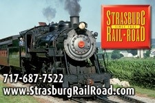 Strasburg Rail Road - Strasburg,  Lancaster County, Pennsylvania