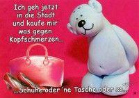 Tatzino - der lustige Bär auf Grußkarten, Postkarten, Taschen und Kissen