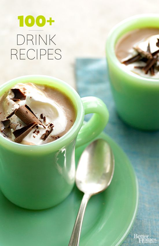 Hot Drink Recipes | Drink Recipes, Drinks and Cold Weather