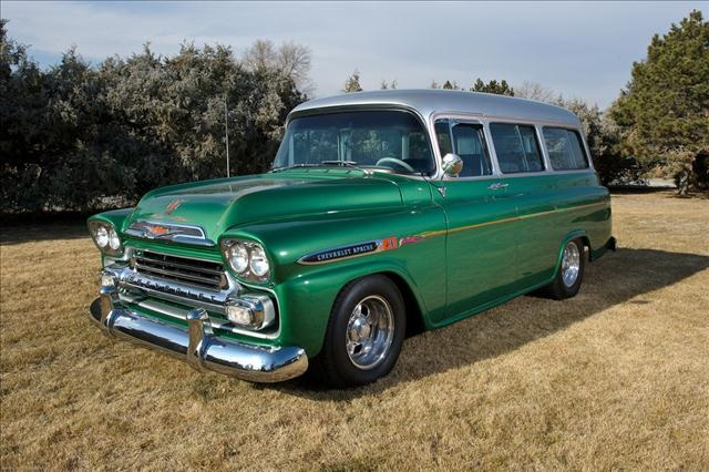 1959 chevy suburban.  I've always wanted a '58 or '59