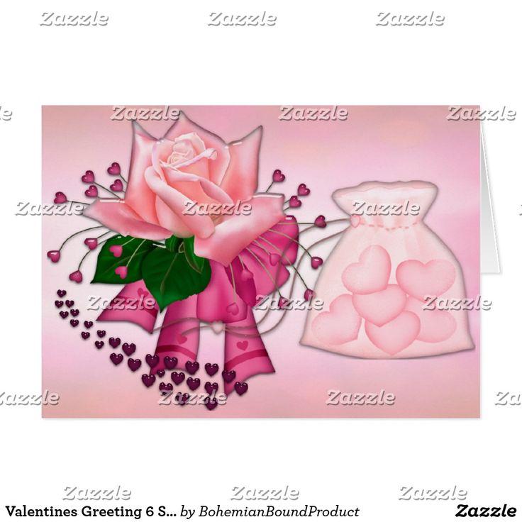 Valentines Greeting 6 Special Valentine Card