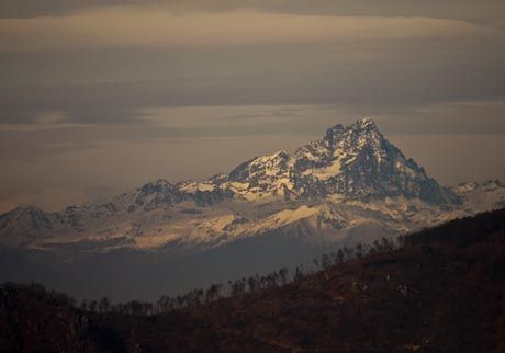 Monviso ripreso dalle montagne di Garessio #mountains #piemonte #italy #provinciadicuneo